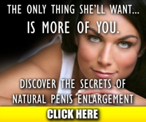 all natural penis enlargement